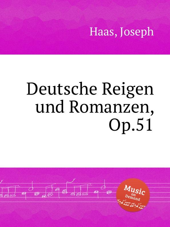лучшая цена J. Haas Deutsche Reigen und Romanzen, Op.51
