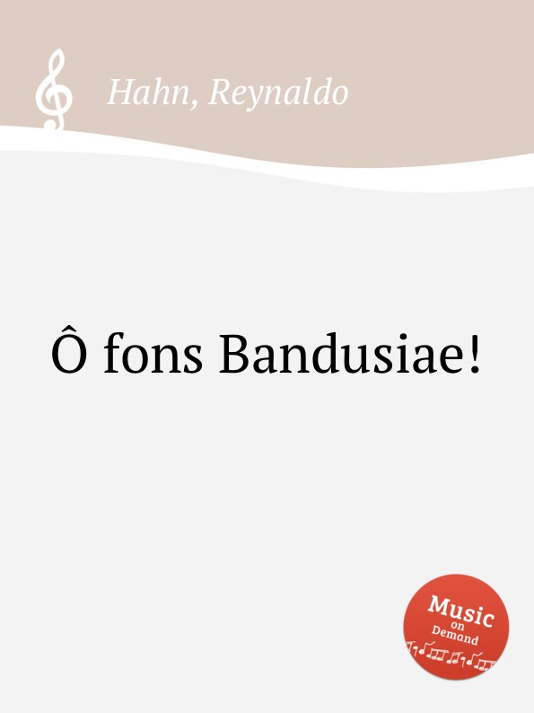 Ô fons Bandusiae! (2630)