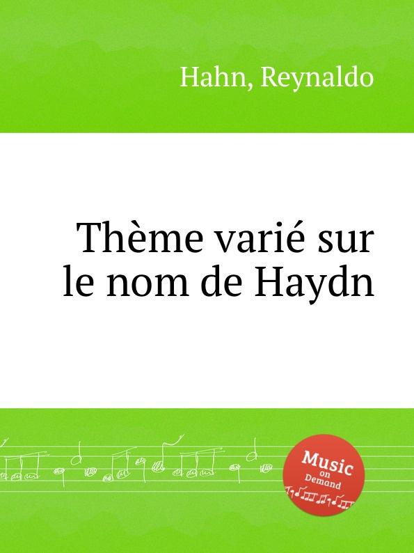R. Hahn Theme varie sur le nom de Haydn подвесной унитаз serel rita rt15