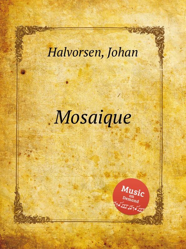цена J. Halvorsen Mosaique в интернет-магазинах