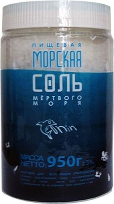 Соль пищевая Зимушка-краса Мертвое море морская, 950 г
