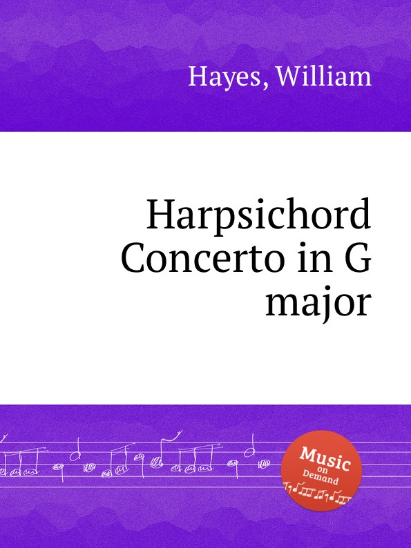 W. Hayes Harpsichord Concerto in G major w edmund jigg in g major