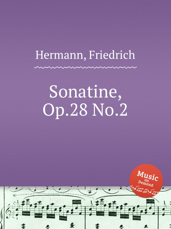 F. Hermann Sonatine, Op.28 No.2