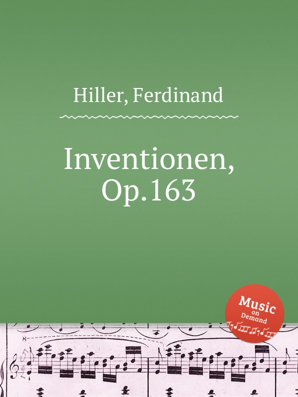 F. Hiller Inventionen, Op.163