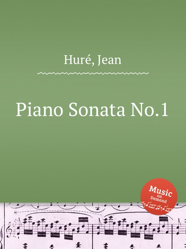 J. Huré Piano Sonata No.1