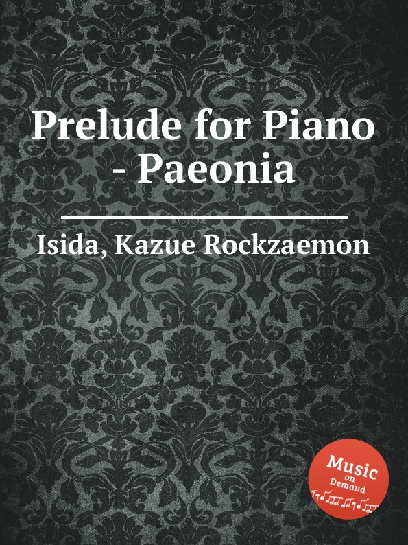 K.R. Isida Prelude for Piano - Paeonia k r isida prelude for piano lagerstroemia