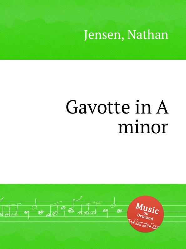 N. Jensen Gavotte in A minor a geibel gavotte impromptu