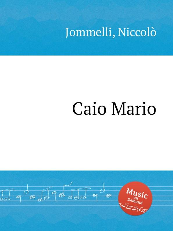 N. Jommelli Caio Mario n jommelli demetrio