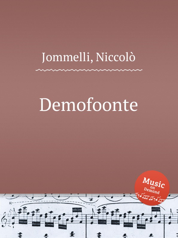 N. Jommelli Demofoonte n jommelli demetrio