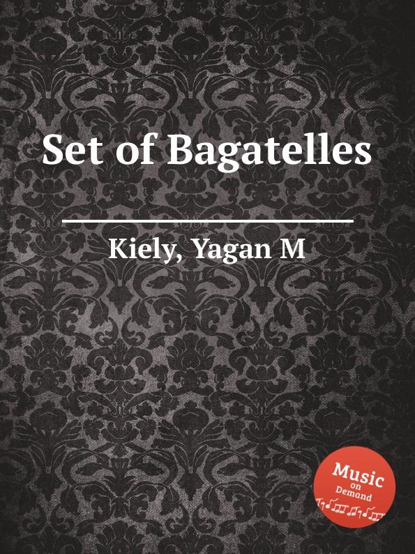 Y.M. Kiely Set of Bagatelles