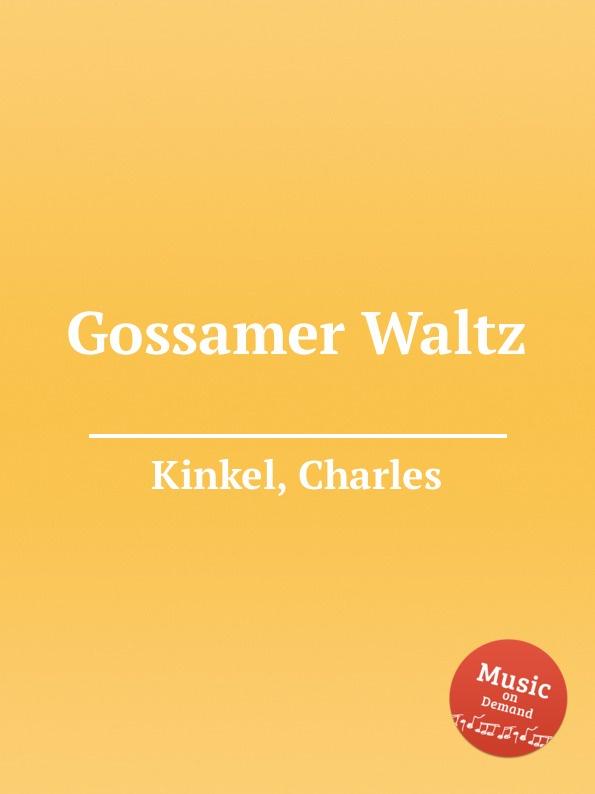 C. Kinkel Gossamer Waltz showy flowers printed gossamer long scarf
