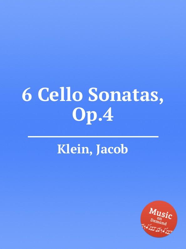 J. Klein 6 Cello Sonatas, Op.4