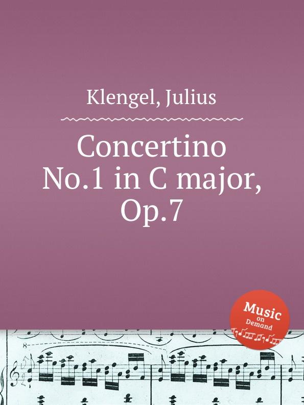 J. Klengel Concertino No.1 in C major, Op.7 j b bréval cello sonata in c major op 40 no 1