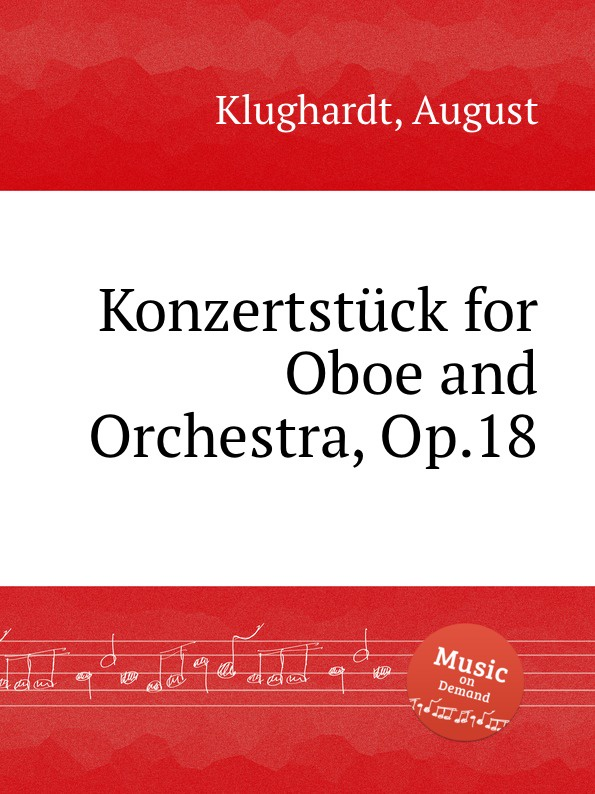 A. Klughardt Konzertstuck for Oboe and Orchestra, Op.18 j rietz konzertstuck for wind quintet and orchestra op 41 page 9
