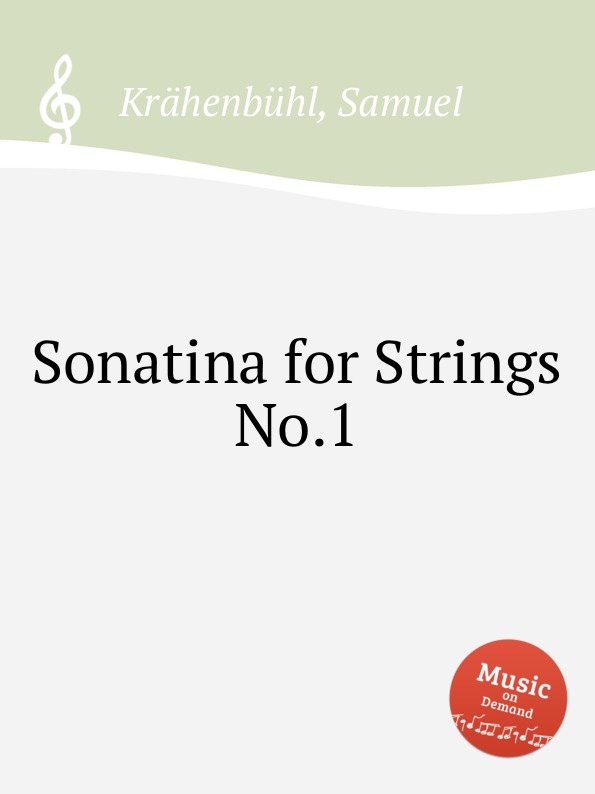 S. Krähenbühl Sonatina for Strings No.1