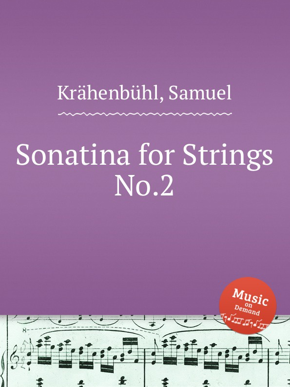 S. Krähenbühl Sonatina for Strings No.2