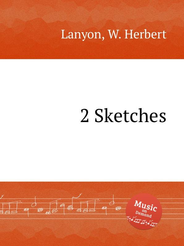 W.H. Lanyon 2 Sketches w h lanyon 2 sketches