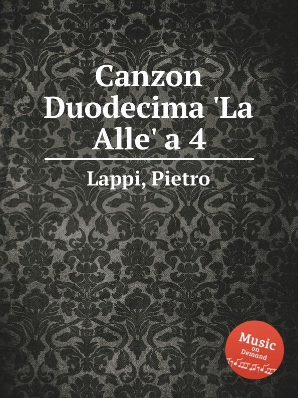 P. Lappi Canzon Duodecima .La Alle. a 4 шапка laparka lappi rabbit