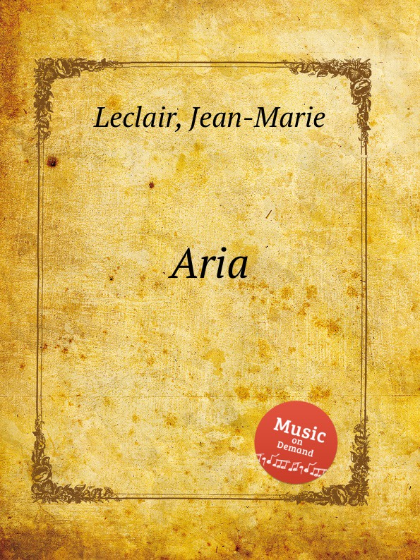 J. Leclair Aria d zipoli aria for cello and piano