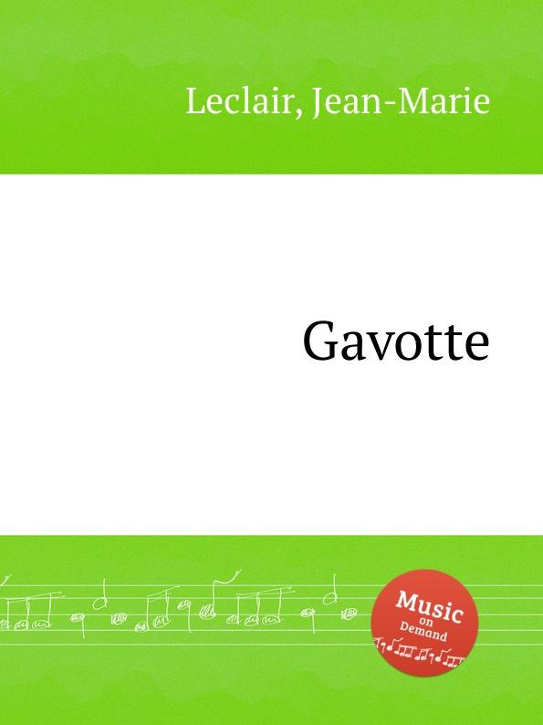 J. Leclair Gavotte e n méhul gavotte for cello and piano