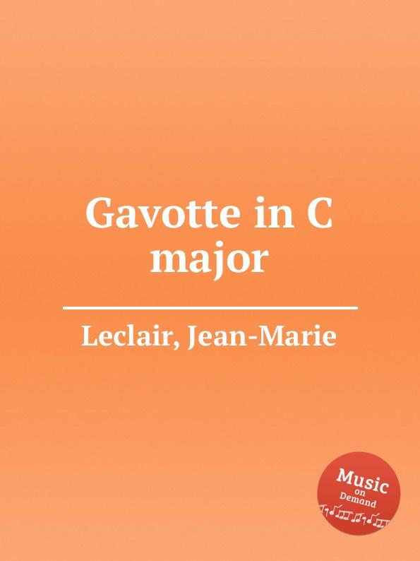 J. Leclair Gavotte in C major e n méhul gavotte for cello and piano