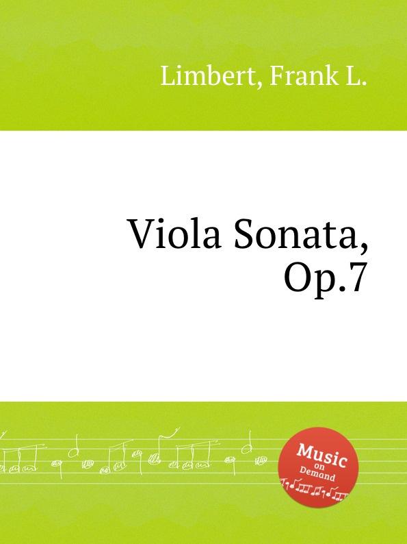 F.L. Limbert Viola Sonata, Op.7 h vieuxtemps viola sonata op 36