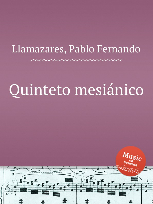 P.F. Llamazares Quinteto mesianico p f llamazares quinteto mesianico