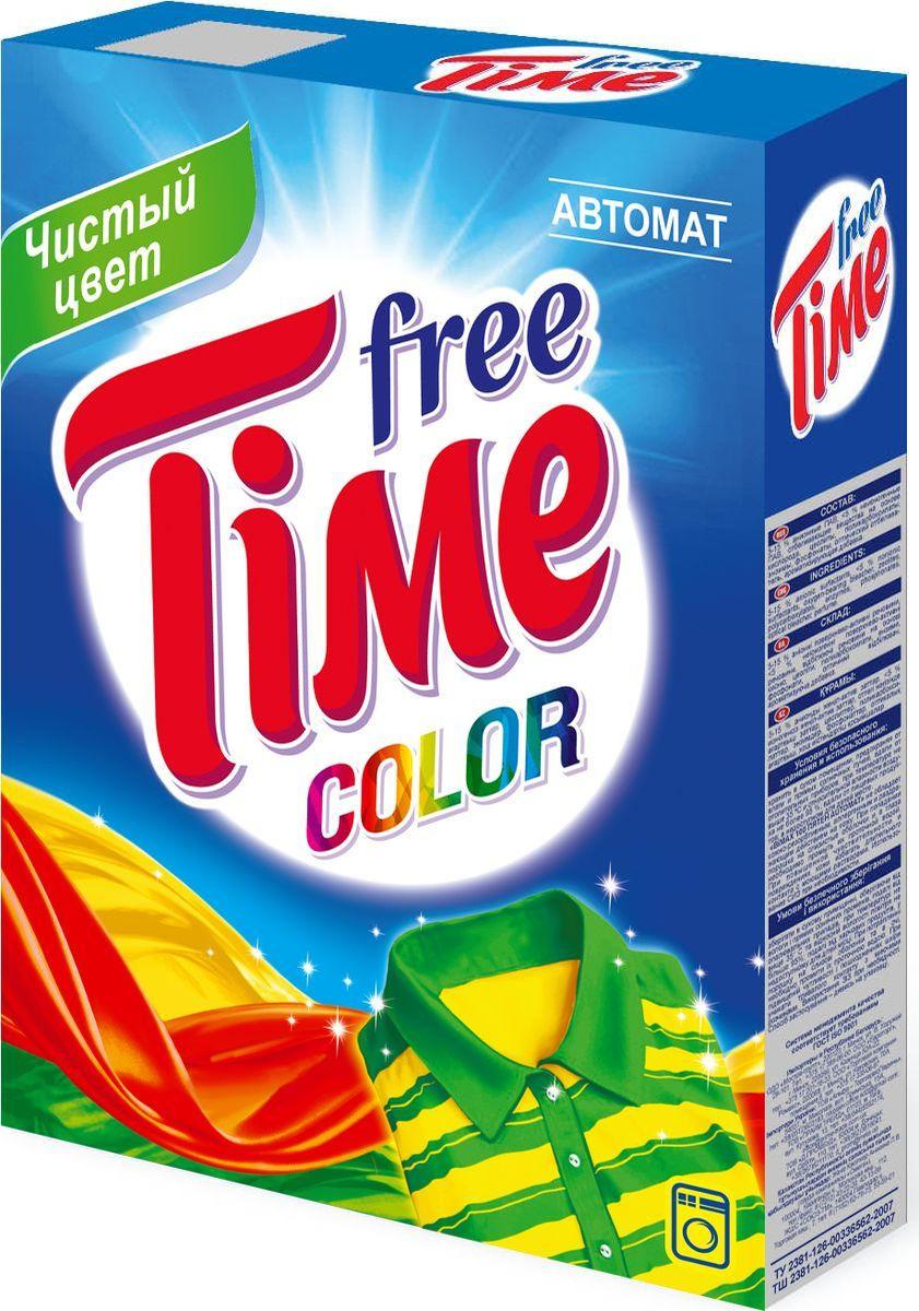 Стиральный порошок Free Time Color, автомат, 349-5, 350 г бытовая химия волшебный эффект стиральный порошок автомат колор 350 г page 2