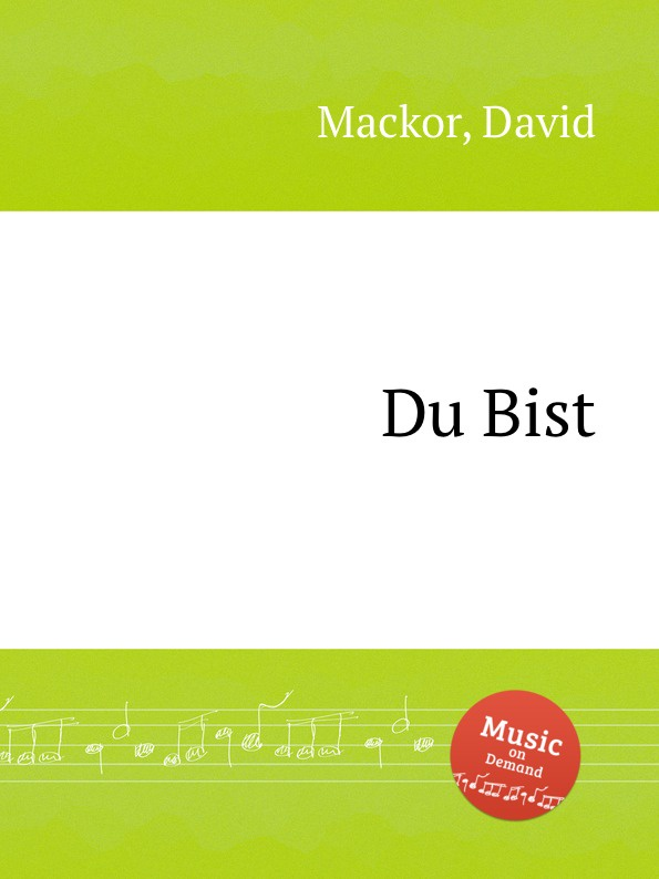 D. Mackor Du Bist david ciccarelli voice acting for dummies
