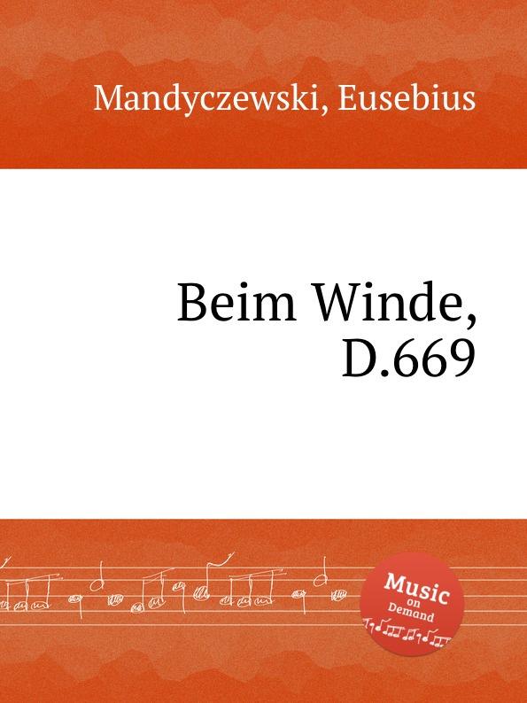 E. Mandyczewski Beim Winde, D.669