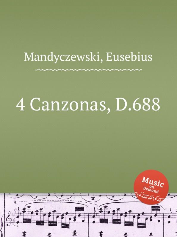 E. Mandyczewski 4 Canzonas, D.688