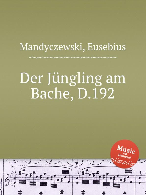 E. Mandyczewski Der Jungling am Bache, D.192 e mandyczewski der jungling an der quelle d 300