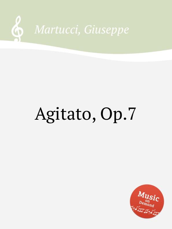 G. Martucci Agitato, Op.7 g martucci tempo di mazurka op 11