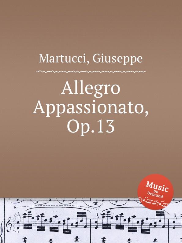 G. Martucci Allegro Appassionato, Op.13 g martucci piano quintet op 45