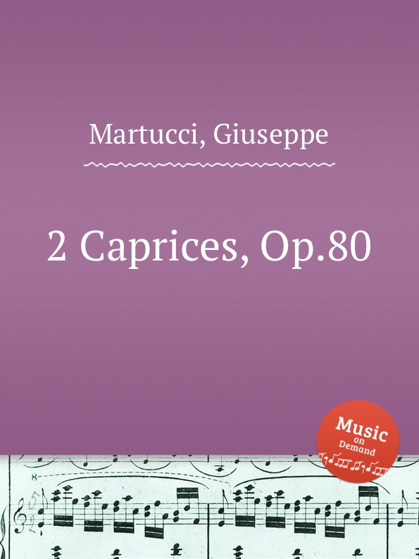 цена G. Martucci 2 Caprices, Op.80 в интернет-магазинах