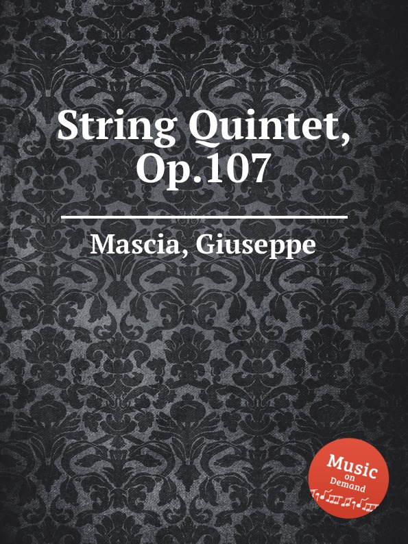 G. Mascia String Quintet, Op.107 цена
