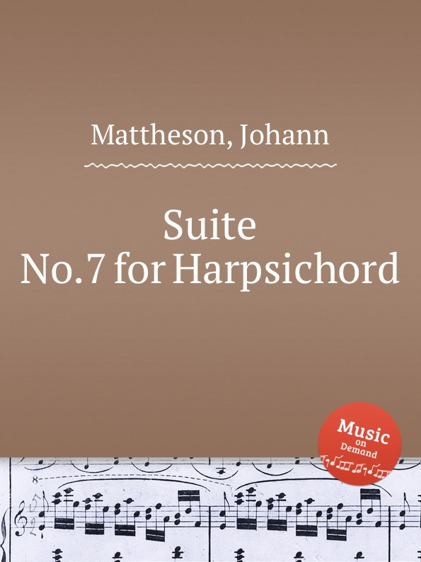 J. Mattheson Suite No.7 for Harpsichord недорого