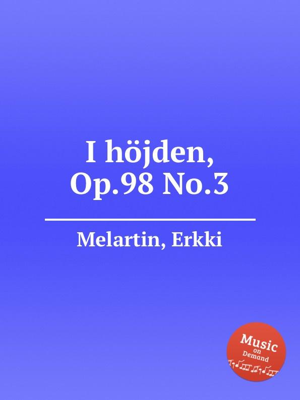 E. Melartin I höjden, Op.98 No.3