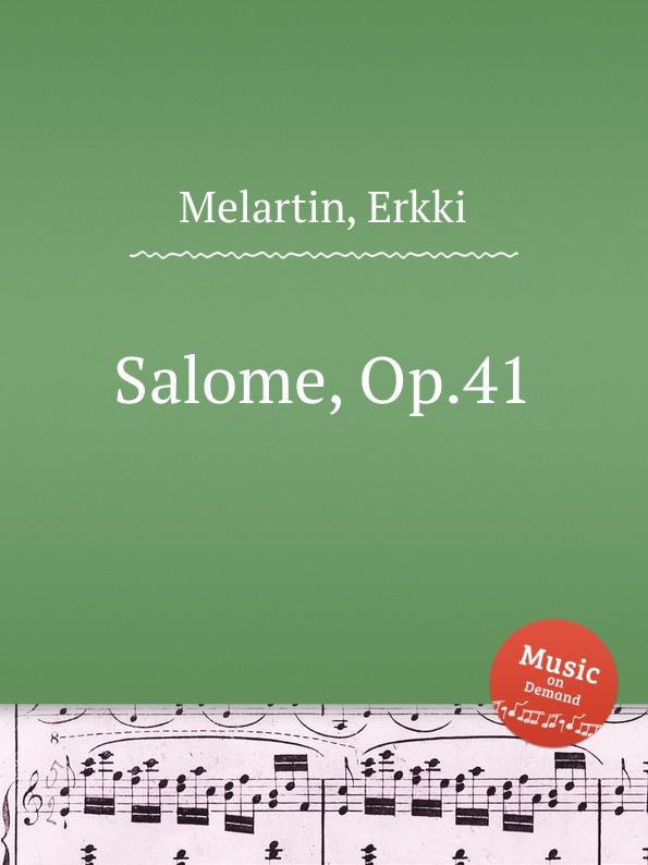 E. Melartin Salome, Op.41 e melartin walzer miniaturen op 49