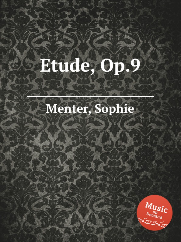 S. Menter Etude, Op.9 s menter hungarian gypsy melodies