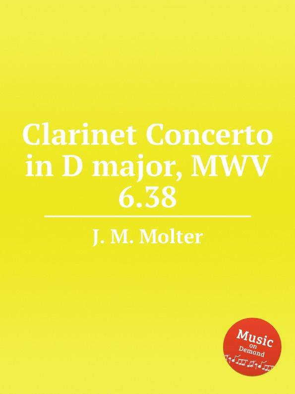 цена J. M. Molter Clarinet Concerto in D major, MWV 6.38 в интернет-магазинах