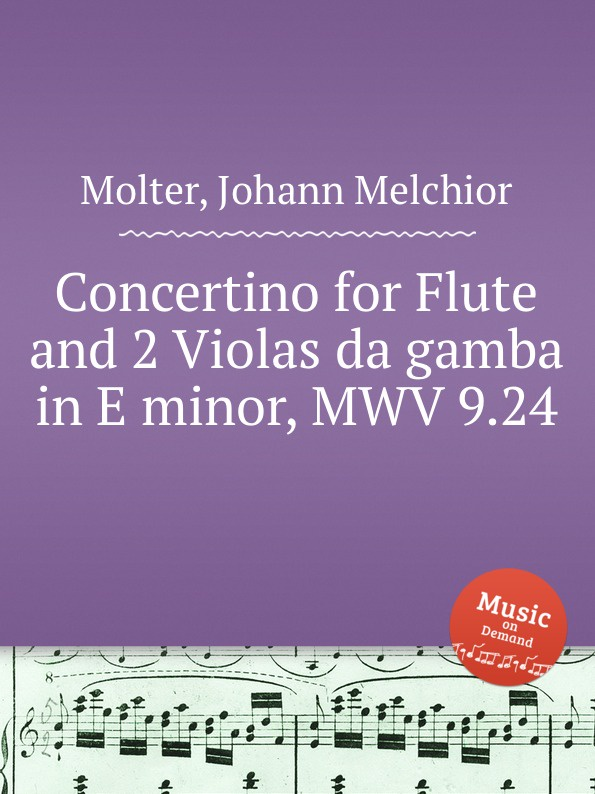 J. M. Molter Concertino for Flute and 2 Violas da gamba in E minor, MWV 9.24 traditional handcrafted bamboo flute with flute diaphragm and soft pouch e key