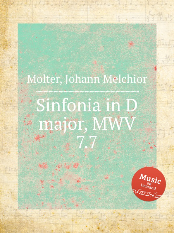 J. M. Molter Sinfonia in D major, MWV 7.7