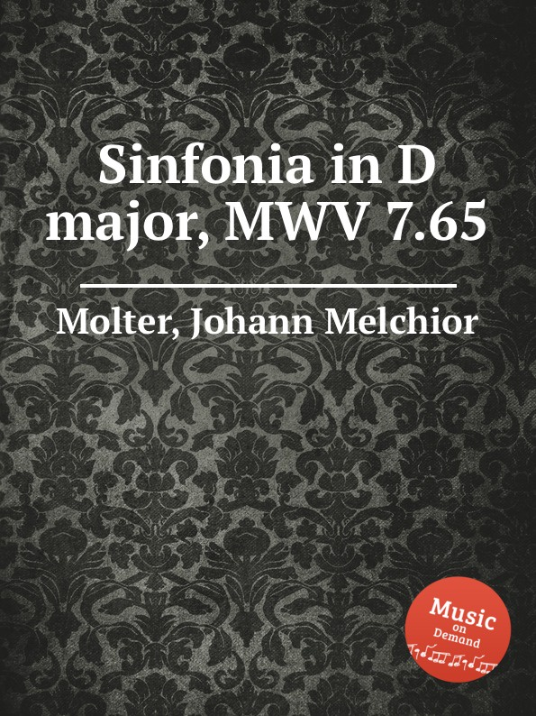 J. M. Molter Sinfonia in D major, MWV 7.65