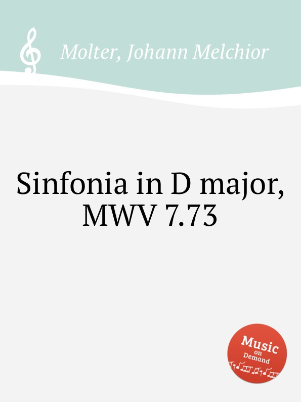 J. M. Molter Sinfonia in D major, MWV 7.73