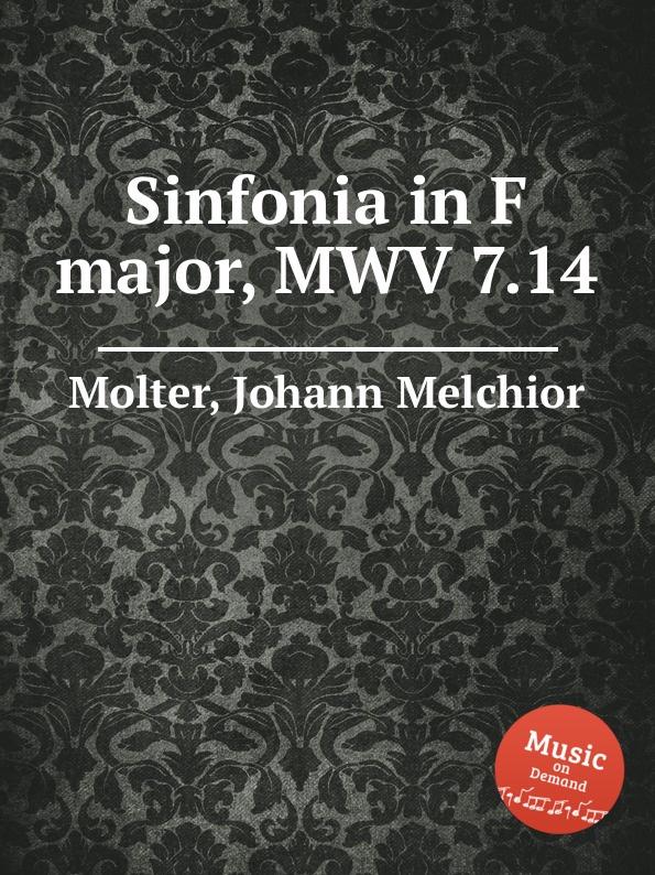 J. M. Molter Sinfonia in F major, MWV 7.14