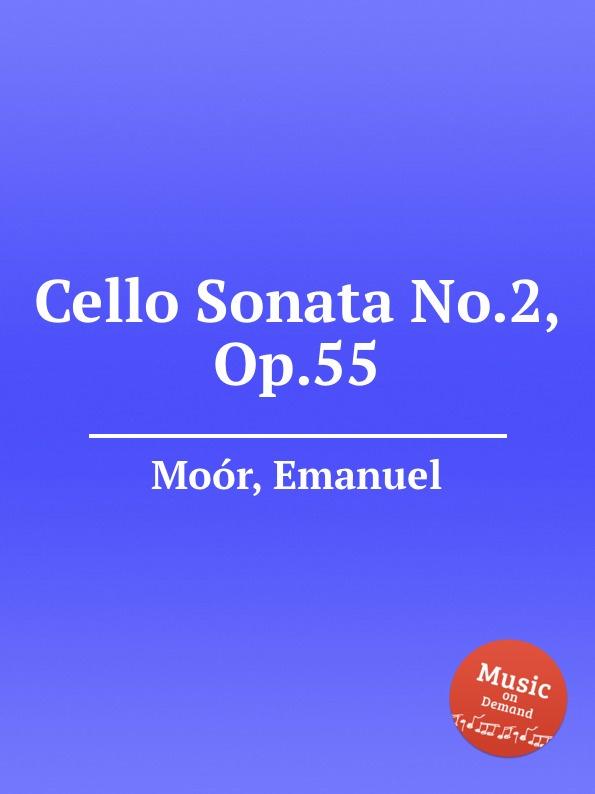 E. Moór Cello Sonata No.2, Op.55 e moór barcarole op 38