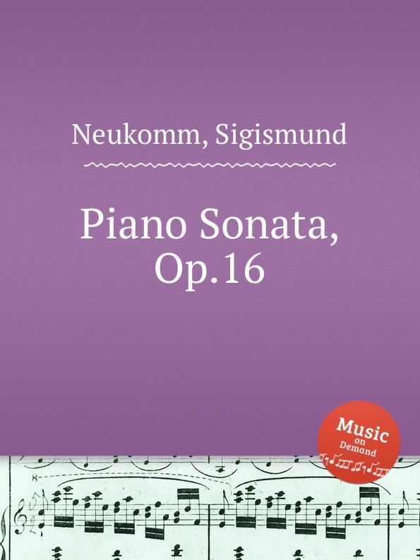 S. Neukomm Piano Sonata, Op.16 s neukomm the sea
