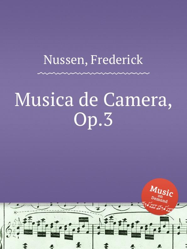 Фото - F. Nussen Musica de Camera, Op.3 micro camera compact telephoto camera bag black olive