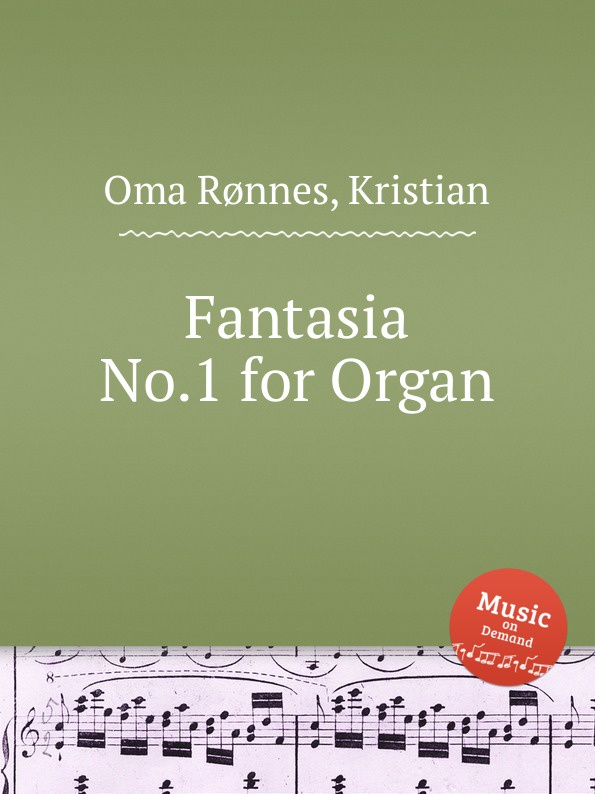 K.O. Rønnes Fantasia No.1 for Organ